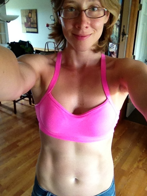 August 2013 T25 progress Kimberly abs